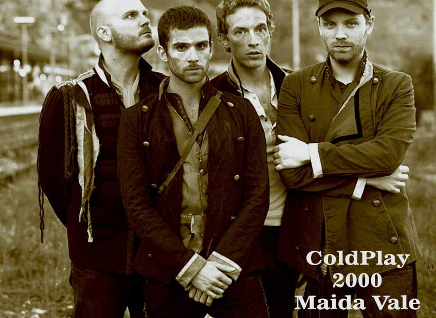 coldplay in maida vale 2000